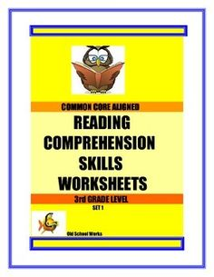 Check out this great supplemental material. Easily assess you students skills and weaknesses as they complete each selection. A TPT store where Old School Works for you! Reading Comprehension For Kids, Reading Groups, Reading Passages, Reading Skills, Teaching Reading, Organization Skills, 4th Grade Reading, Differentiated Instruction, Teaching Language Arts