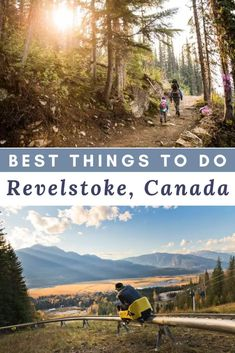 One of Canada's premier mountain resort towns, Revelstoke is chock full of adventures. Things to do in Revelstoke l Revelstoke BC l Revelstoke BC summer l revelstoke BC things to do l British Columbia road trip l British Columbia travel Travel Usa, Columbia Travel, Columbia Road, British Columbia, North America Destinations, Travel Destinations, Visit Canada, Canada Trip, Travel Inspiration