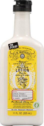 """J r watkins in lemon cream--this stuff legit smells like lemon bars!!!! LOVE!!!!!"" #spring #recipe #lemon"