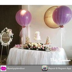 tulle covered balloons - from @lifeslittlecelebrations via instagram.