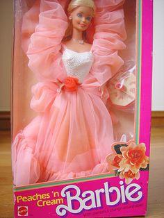 Peaches N' Cream Barbie. *so pretty...sigh*