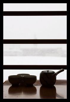 quiet tea...looks like Minnesota