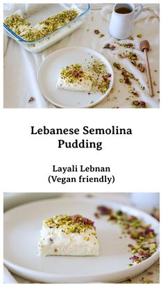 A healthy semolina pudding that is easy to make, Halal Recipes, Veggie Recipes, Healthy Recipes, Veggie Food, Rice Recipes, Delicious Recipes, Vegetarian Recipes, Semolina Pudding, Biryani Recipe
