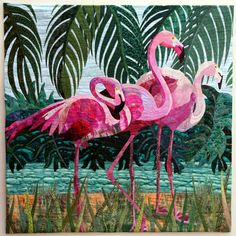 Florida-Flamingos by Denise Oyama Miller 2012