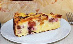 Nektarinos szilvás túrótorta – ennél egyszerűbb, de nagyszerűbb desszert nincs - Blikk Rúzs Quiche, French Toast, Cheesecake, Food And Drink, Pie, Sweets, Baking, Breakfast, Desserts