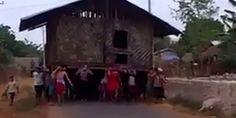 タイのとある村での引っ越し方法が豪快過ぎる - http://naniomo.com/archives/7413