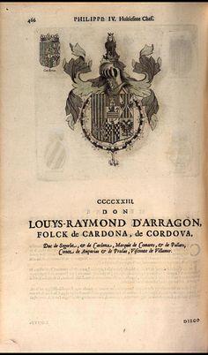 431. 1651; Luis Ramon de Aragón, Duke of Cardona (1608-1670).