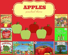 books and activities for an apple unit