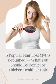 """While the human scalp contains about 100,000 hairs in total, individuals lose up to 100 hairs per day, naturally. Healthy hairs, made up of the tough protein, """"keratin"""" generally last from 2 to 7 years before falling out and being replaced. Hair loss becomes noticeable however, when the scalp sheds too many individual strands and no new growth occurs. Stay Healthy, Healthy Tips, Healthy Hair, Healthy Recipes, New Growth, Popular Hairstyles, Keratin, Sheds, Hair Loss"""