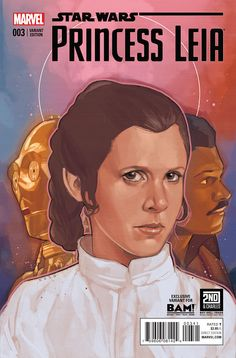 Princess Leia #3 - Variant cover by Phil Noto