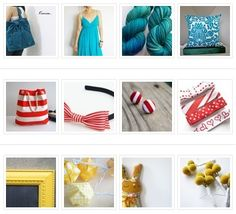 Etsy Treasuries curated by Katie Lewis    www.the-red-kitchen.com