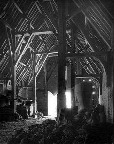 Edwin Smith's Tithe Barn, Great Coxwell, Oxfordshire