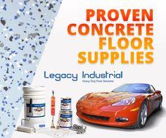 Rust oleum 261845 50 voc 2 5 car epoxy shield garage for How to wash garage floor