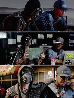 Watch Dogs 2| Marcus and Wrench
