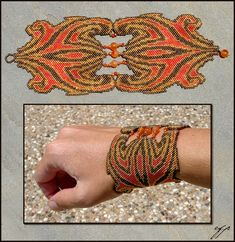 Wonderful art bracelets by Ellygator | Beads Magic