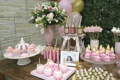 Part of a sweet table from a Princess Aurora + Sleeping Beauty Birthday Party via Kara's Party Ideas KarasPartyIdeas.com (19)