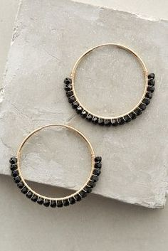 Anthropologie Magdalena Hoops #anthrofave