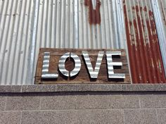 Vintage Reclaimed Barn Wood Sign Patina by WallStarGraphics, $225.00