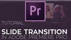 How to Create a Slide Transition in Adobe Premiere Pro Illustrator Tutorials, Adobe Illustrator, Interview Techniques, Film Tips, Adobe Audition, Adobe Premiere Pro, Video Production, Video Film, Graphic Design Tutorials