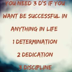 You have to be accountable and know what it's going to take to be successful. Make sure you have the 3 D's #determination #dedication #discipline  Prep your mind and get ready to be successful. #cresultsfitness #motivation #life #lifestyle #hustle #drive #success #fit #fitfam #fitness #fitspro #fitlife #igfit #instagram #instamood #instadaily #instagramers #gains #personaltrainer #beachbody #bodybuilding #hardwork