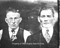 "Ed Chambers and Sid Hatfield. Both men were killed on the steps of the McDowell County Courthouse on August 1, 1921. Sid, who was not related to ""Devil Anse,"" was a hero to coal miners due to his role in the Matewan Massacre."