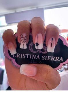 Cute Acrylic Nails, Acrylic Nail Designs, Cute Nails, Shellac Nails, Pink Nails, Hair And Nails, My Nails, Unicorn Nails, Dream Nails
