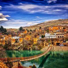 Turkey-Urfa-Halfeti. Cittaslow-Yavaş Şehirler