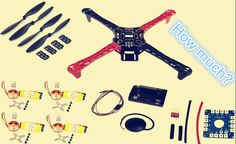 cost of building a quadcopter