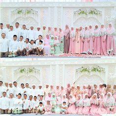 Ghaitsa and Yusuf wedding, both of them are hafidzul qur'an :)