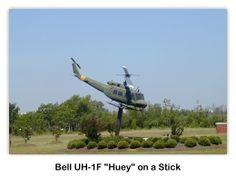 Bell UH-1F Iroquois en el USS Alabama (BB-60) Battleship Park, Mobile, Alabama