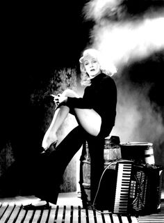 WITNESS FOR THE PROSECUTION (1957) - Marlene Dietrich - Directed by Billy Wilder - United Artists - Publicity Still.