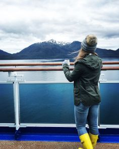 Looking out on Alaska from the Crown Princess cruise Alaskan Cruise 101 - Everything you ever needed to know about cruising to Alaska! From packing to booking, to excursion planning, you will be a pro after reading!