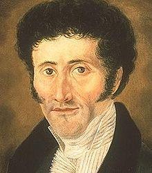 """E. T. A. Hoffmann (1776-1822) ist ein Schriftsteller der deutschen Romantik, aber auch Jurist, Komponist, Kapellmeister, Musikkritiker, Zeichner und Karikaturist. Eines seiner bekanntesten Werke ist """"Der Sandmann"""" (1816)."""