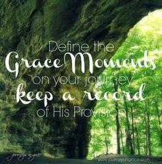 Defining Grace in ou