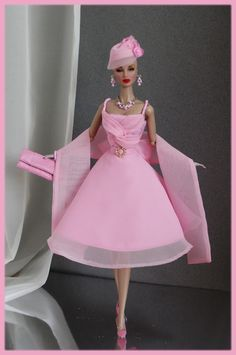 OOAK Fashions for Silkstone / Fashion Royalty / Vintage barbie - With Zipper