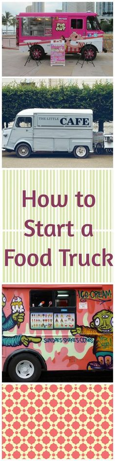 Food trucks are an affordable alternative to opening a new restaurant. Here's what you need to know about opening your food truck business. Food Truck Business, Catering Business, Food Business Ideas, Food Truck Menu, Best Food Trucks, Food Truck Design, Food Design, Design Ideas, Coffee Carts