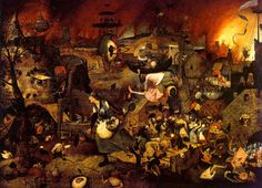 Famous Paintings | ... English, 'Mad Meg') is based on a very famous painting by Bruegel