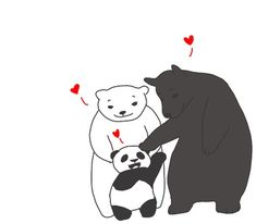 Interracial Love - this is the cutest thing ever...especially since I love pandas :)