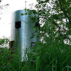 syllogie - inhabitable silo by antoine pradels and gregoire chombard | designboom | ecodesign | design | recycle