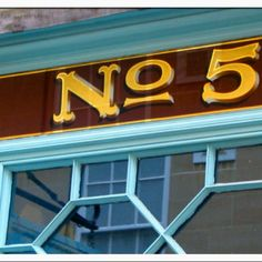 Working towards creating my house number like this. Nice. #sign writing