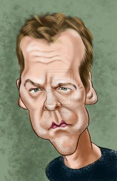 Kiefer Sutherland by adavis57 on deviantART