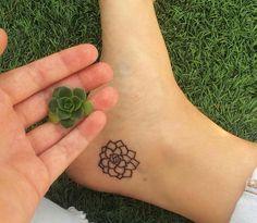 Succulent tattoo