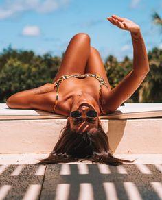 Travel Photographer, Bikini Girls, Hair Styles, Bikinis, Instagram, Beauty, 35, Counting Stars, Pool Photography