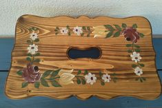Our hand-painted farm furniture was made of solid wood, spruce and the surface was treated with oil and beeswax. Painted Stools, Hand Painted Furniture, Solid Wood, Etsy, Home Decor, Art, Cottage Chic, Art Background, Decoration Home