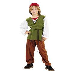 DisfracesMimo, disfraz de frutero para niño varias tallas. Este traje es ideal para representar en tu función de navidad los oficios de Belén. Este disfraz es ideal para tus fiestas temáticas de disfraces de navidad y cabalgatas infantiles