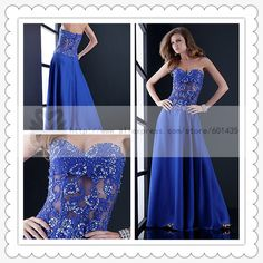 Freeshipping! WR8849 Sexy Newest Celebrity Sweetheart Neckline See Through Corset Royal Blue Party Dress Long on AliExpress.com. 15% off $127.49