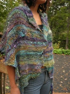 Scotian Meadow Wrap by Jane Thornley