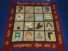 Food & Fabric: Harry Potter Quilt