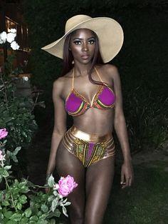 CUPSHE Femme Bikini /à Imprim/é Serpent Ensemble Bikini Tanga Taille Basse Maillots de Bain 2 Pi/èces