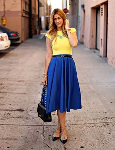 Faldas de moda para el verano